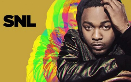 Kendrick Lamar 'Swimming Pools (Drank)' / 'Poetic Justice' (live on 'SNL')