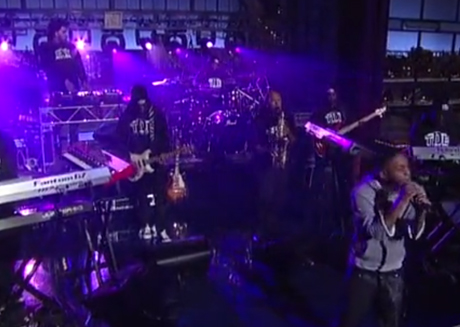 "Kendrick Lamar ""Poetic Justice"" (live on 'Letterman')"