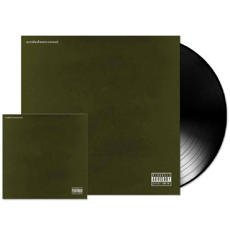 Kendrick Lamar Announces Physical Editions of 'untitled unmastered.'
