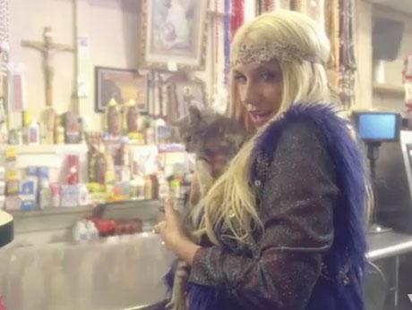 Ke$ha 'C'Mon' (video)