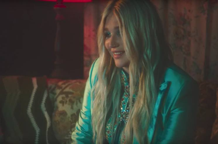 Kesha 'Learn to Let Go' (video)