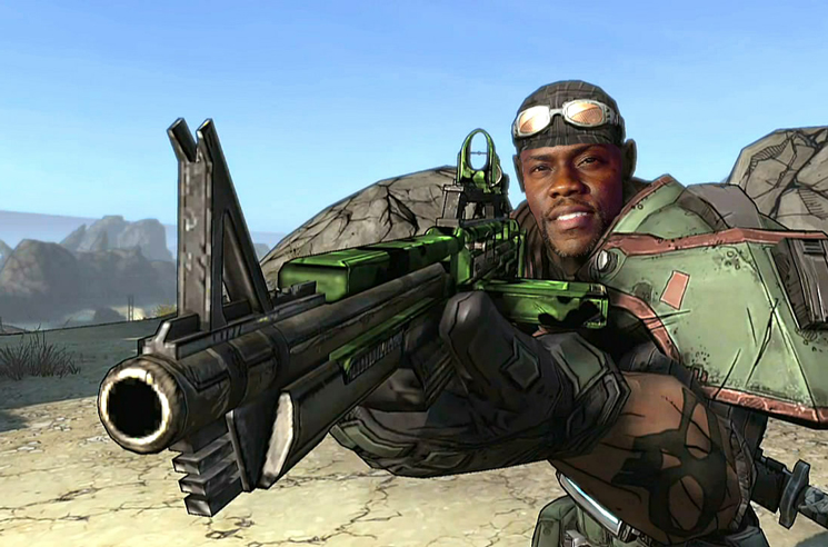 Kevin Hart Joins 'Borderlands' Film Adaptation