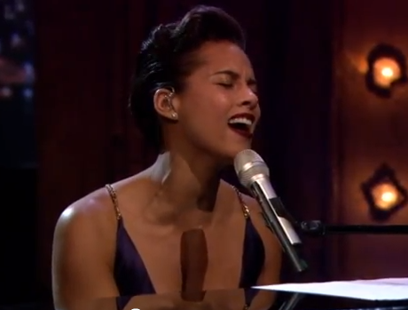"Alicia Keys ""Gummi Bears Theme Song"" (live on 'Fallon')"