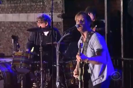 The Black Keys Live on 'Letterman'
