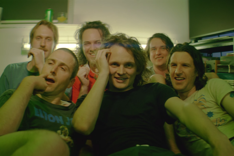 King Gizzard & the Lizard Wizard Throw a Greasy House Party in New 'Intrasport' Video