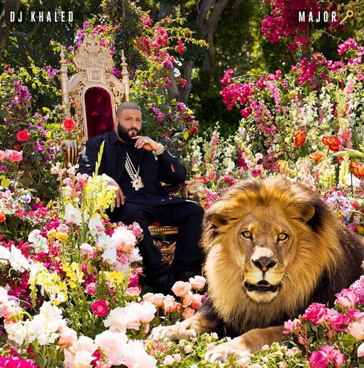 DJ Khaled Chills with a Lion on New Album Cover