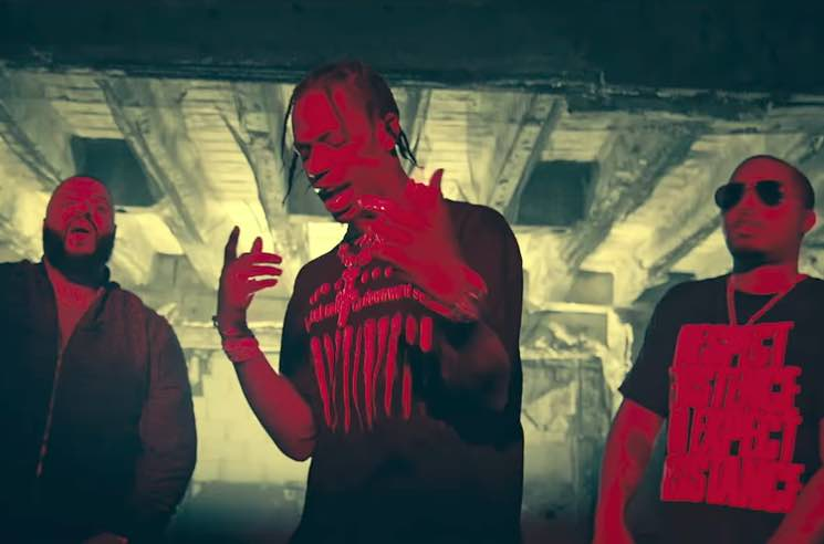 ​DJ Khaled, Nas and Travis Scott Team Up for 'It's Secured' Video