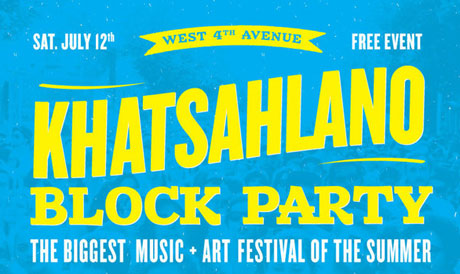 Vancouver's Khatsahlano Block Party Brings Out the Poppy Family Experience, Lightning Dust, the Grapes of Wrath