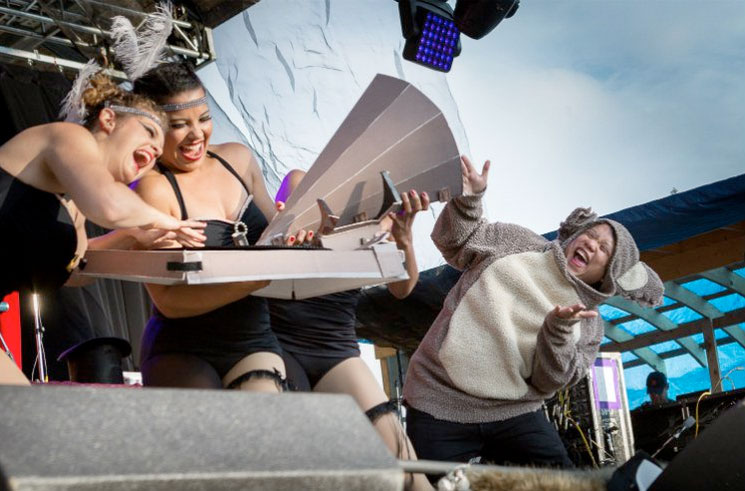 Kid Koala's 'Vinyl Vaudeville Show' Main Stage, Guelph ON, July 24