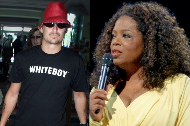 Watch a Very Intoxicated Kid Rock Go on a 'F*** Oprah' Rant