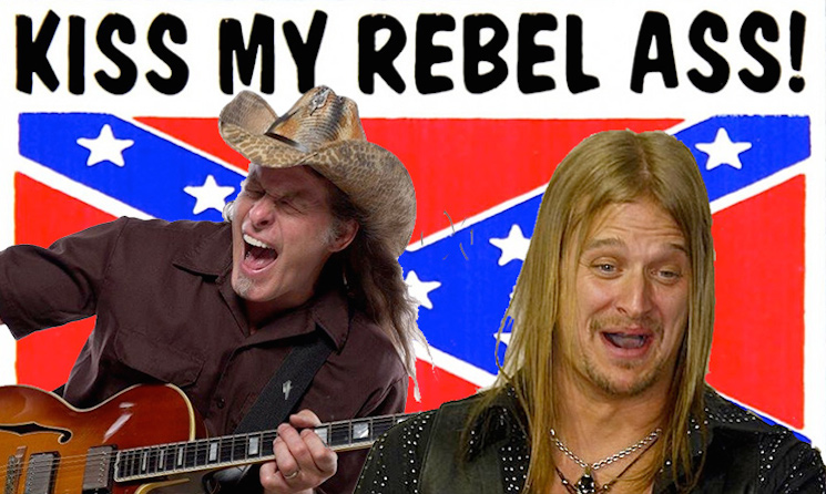 Kid Rock and Ted Nugent Are Not Recording Confederate Flag Song