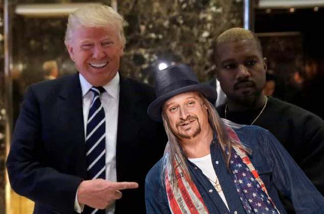 Kid Rock Is Joining Kanye West and Donald Trump at the White House Today