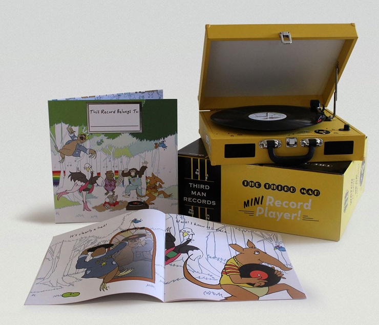 Third Man and LITA Join Forces to Bring Vinyl to the Kids via New Comp and Portable Turntable