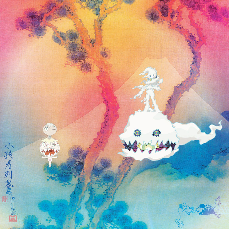 Here's Kanye West and Kid Cudi's 'Kids See Ghosts' Album