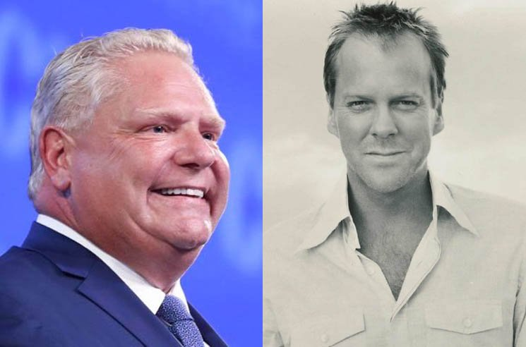 ​Kiefer Sutherland Tells Doug Ford to Stop Tweeting About the Actor's Grandfather Tommy Douglas