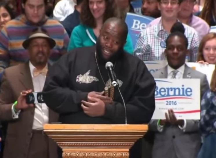 Killer Mike Speaks at Bernie Sanders Rally in Atlanta