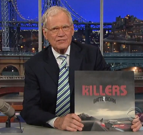 "The Killers ""Runaways"" (live on 'Letterman')"