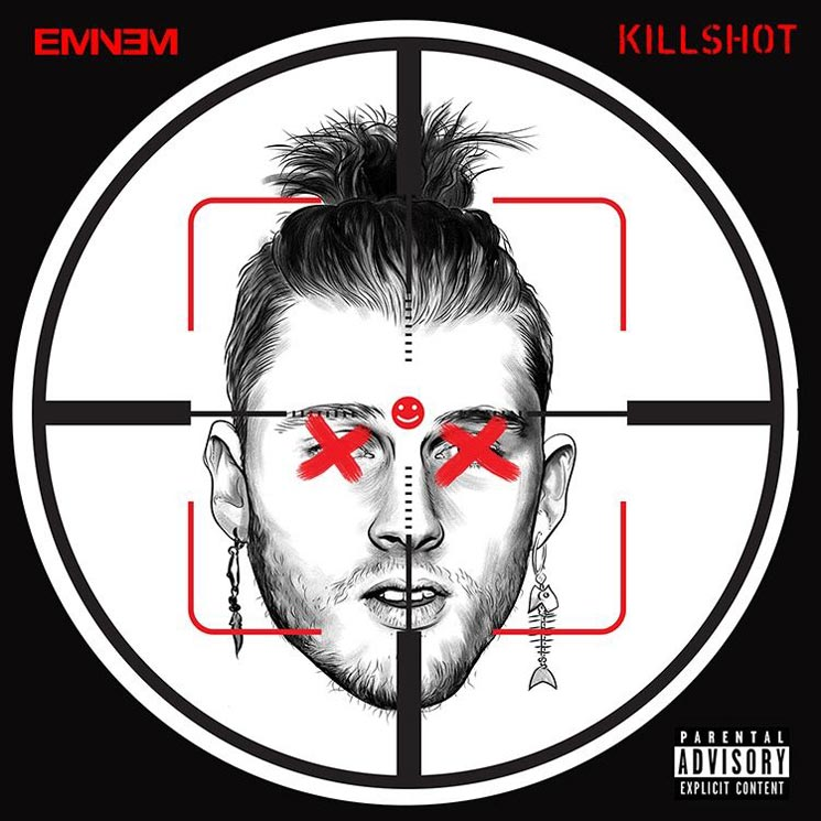 "Eminem Responds to Machine Gun Kelly with ""Killshot"""