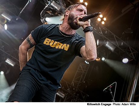 Killswitch Engage Downsview Park, Toronto ON August 12