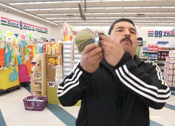 """Jimmy Kimmel Remade Drake's """"God's Plan"""" Video in a Dollar Store"""