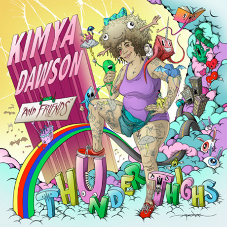 Kimya Dawson Gets the Strokes' Nikolai Fraiture, Mountain Goats' John Darnielle and Aesop Rock  for 'Thunder Thighs'