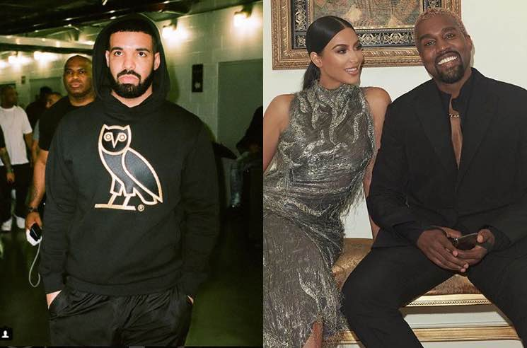 Kim Kardashian Comes for Drake on Twitter