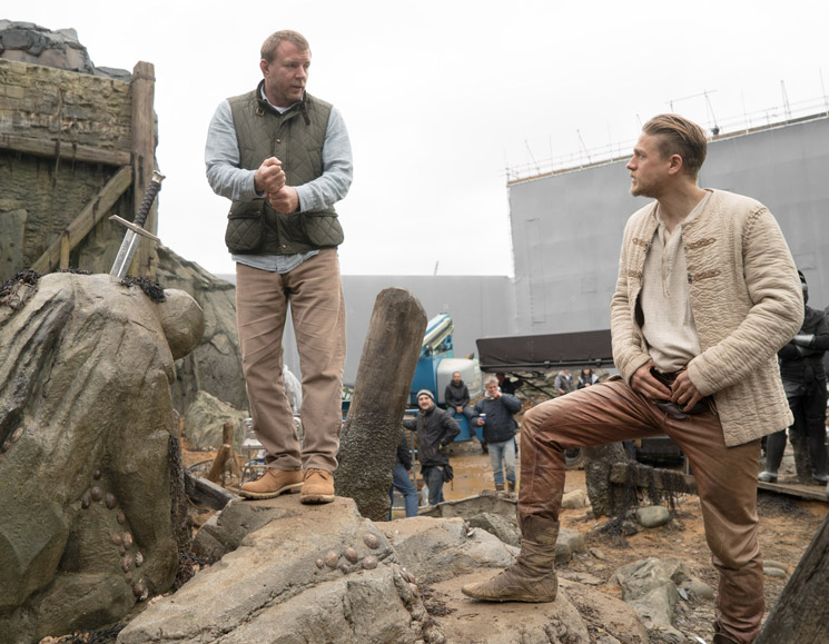 Charlie Hunnam and Guy Ritchie Discuss Their Incredibly Badass 'King Arthur: Legend of the Sword'