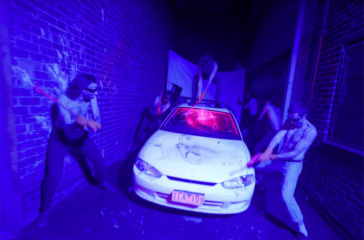 ​King Gizzard & the Lizard Wizard Smash Up a Car in 'Organ Farmer' Video