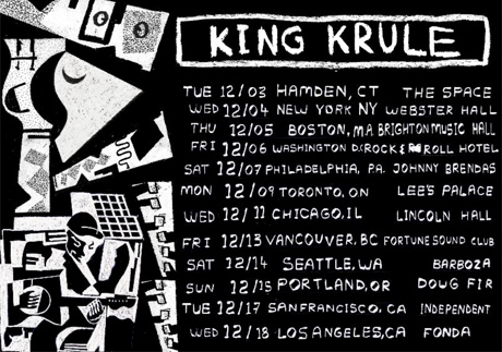 King Krule Returns to North America for Winter Tour, Plays Toronto, Vancouver