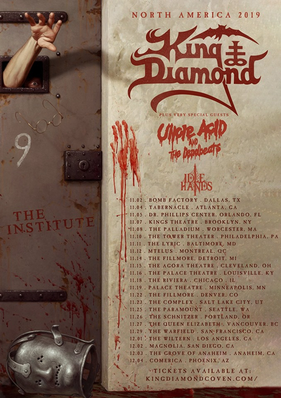 King Diamond Hits Canada on Fall Tour, Plots New Album