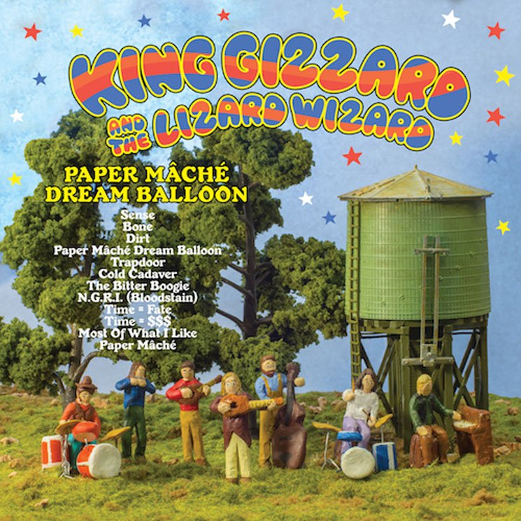 King Gizzard & the Lizard Wizard Paper Mâché Dream Balloon