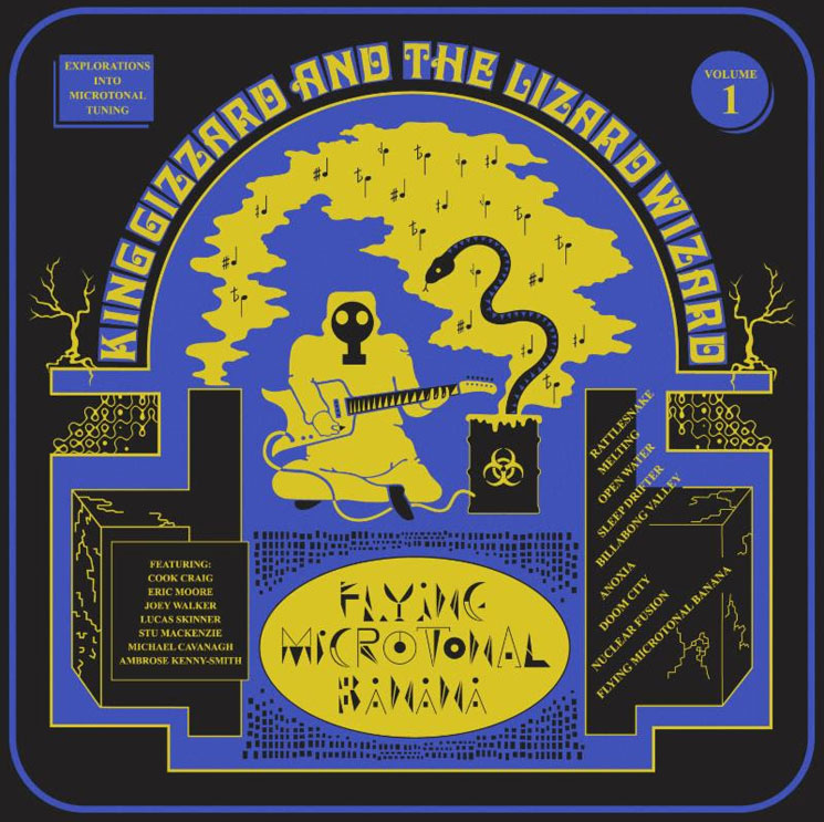 King Gizzard & the Lizard Wizard Announce First of Five New Albums Set for 2017