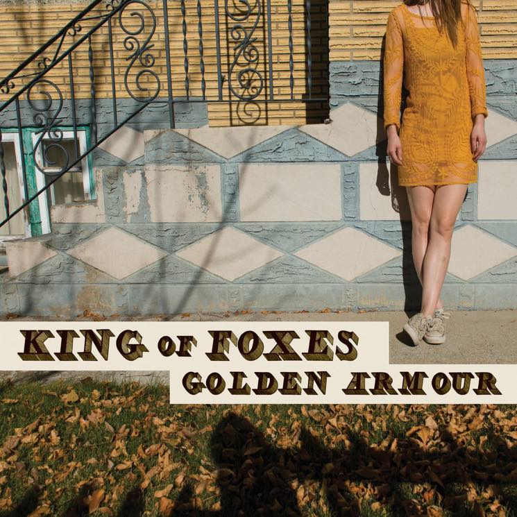 King of Foxes Golden Armour