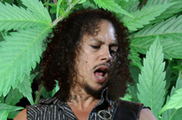 The Sword Guitarist Says Metallica's Kirk Hammett Had 'The Best Weed I Ever Smoked'