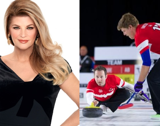 Kirstie Alley and the U.S. Men's Curling Team Have Beef on Twitter