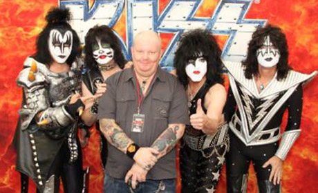 Kiss Prepping New Documentary with Director Alan G. Parker