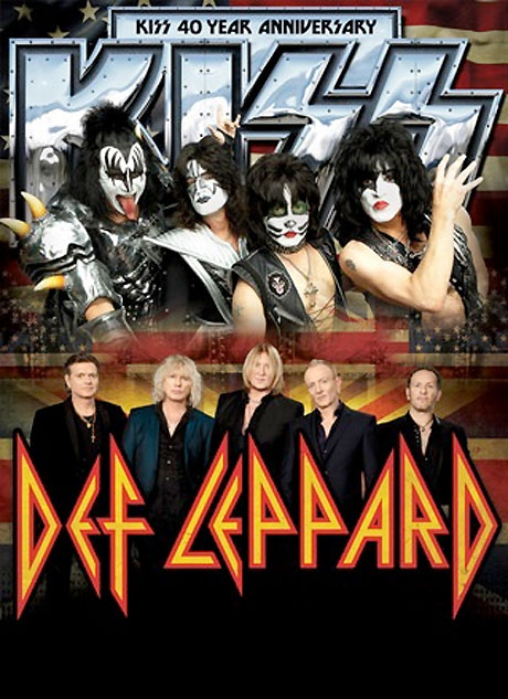 Kiss Team Up with Def Leppard for North American Tour, Play Toronto
