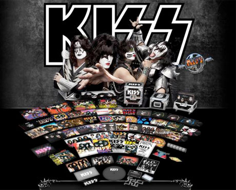 Kiss Detail Vinyl Reissue Campaign, Announce 34-LP 'Kissteria' Box Set