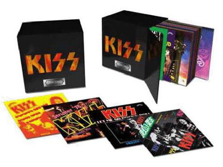 Kiss Detail 'The Casablanca Singles 1974-1982' 7-inch Box Set
