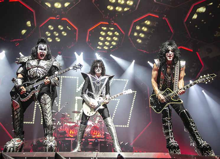 KISS Rogers Arena, Vancouver BC, January 31