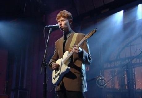 """King Krule """"Easy Easy"""" (live on 'Letterman')"""