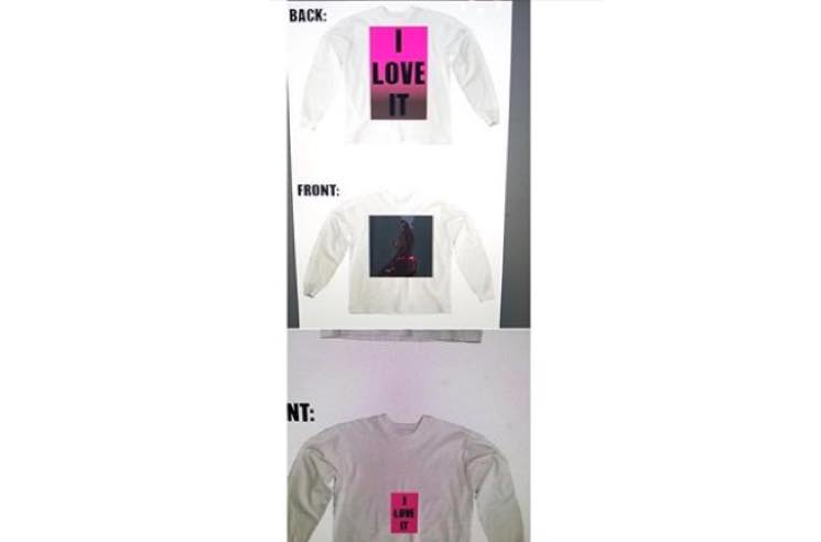 "​Kanye West Previews Really Shitty ""I Love It"" Merch"