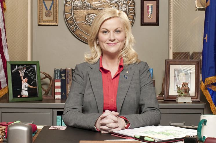"Amy Poehler Tells the NRA to ""Fuck Off"" for Using 'Parks and Recreation' GIF"