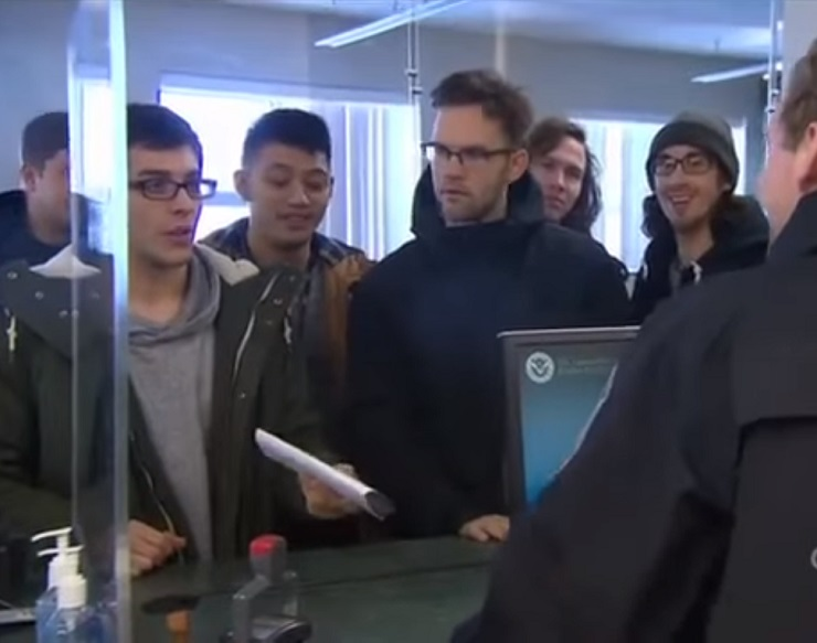 Watch Pop-Punk Band Knuckle Puck Get Grilled on 'Border Security Canada'