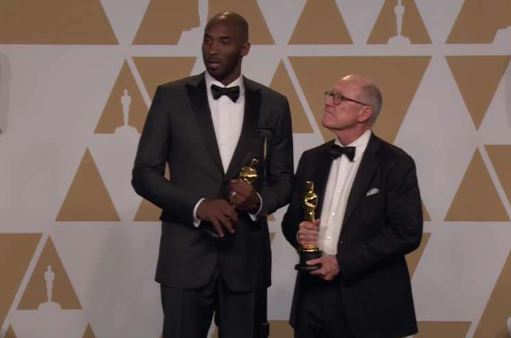 Kobe Bryant Won an Oscar and Twitter Is Not Happy