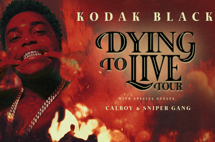 Kodak Black Cancels Canadian Dates on 'Dying to Live Tour'