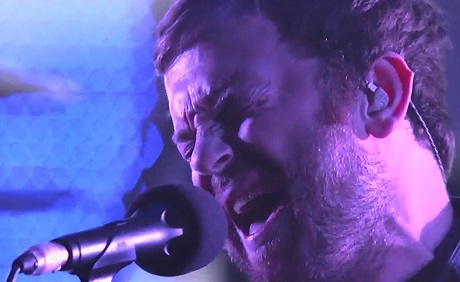 "Kings of Leon ""Supersoaker"" / ""Temple"" (live on 'Kimmel')"