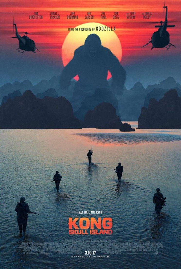 John C. Reilly Steals the Show in 'Kong: Skull Island' Trailer