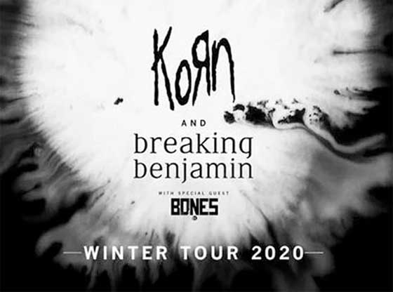 Korn and Breaking Benjamin to Play Quebec City and Montreal on 2020 Tour