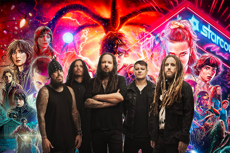 Korn Are Playing a Livestream Concert That Was Shot Inside of a 'Stranger Things' Drive-In Exhibit